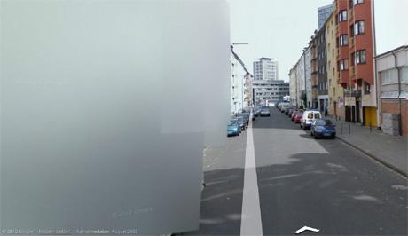 Googles verpixelte Straßen