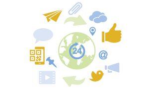 interne soziale Medien verändern Kommunikationsstrukturen